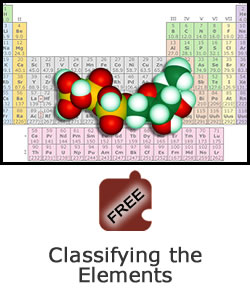 Explaining Matter with Elements, Atoms, and Molecules: Classifying the Elements