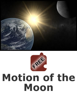 Earth, Sun, and Moon: Motion of the Moon