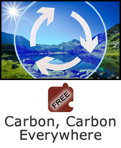 Flow of Matter and Energy in Ecosystems: Carbon, Carbon Everywhere
