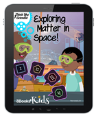 Exploring Matter in Space Interactive E-book Kids