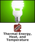Energy: Thermal Energy, Heat, and Temperature Science Object
