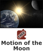 Earth, Sun, and Moon: Motion of the Moon Science Object