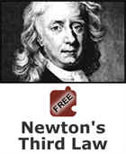 Force and Motion: Newton's Third Law Science Object