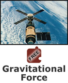 Gravity and Orbits: Gravitational Force Science Object