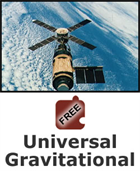 Gravity and Orbits: Universal Gravitation Science Object