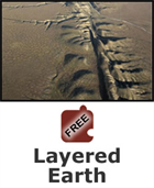 Plate Tectonics:  Layered Earth Science Object