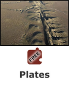 Plate Tectonics: Plates Science Object
