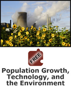 Resources and Human Impact: Population Growth, Technology, and the Environment Science Object